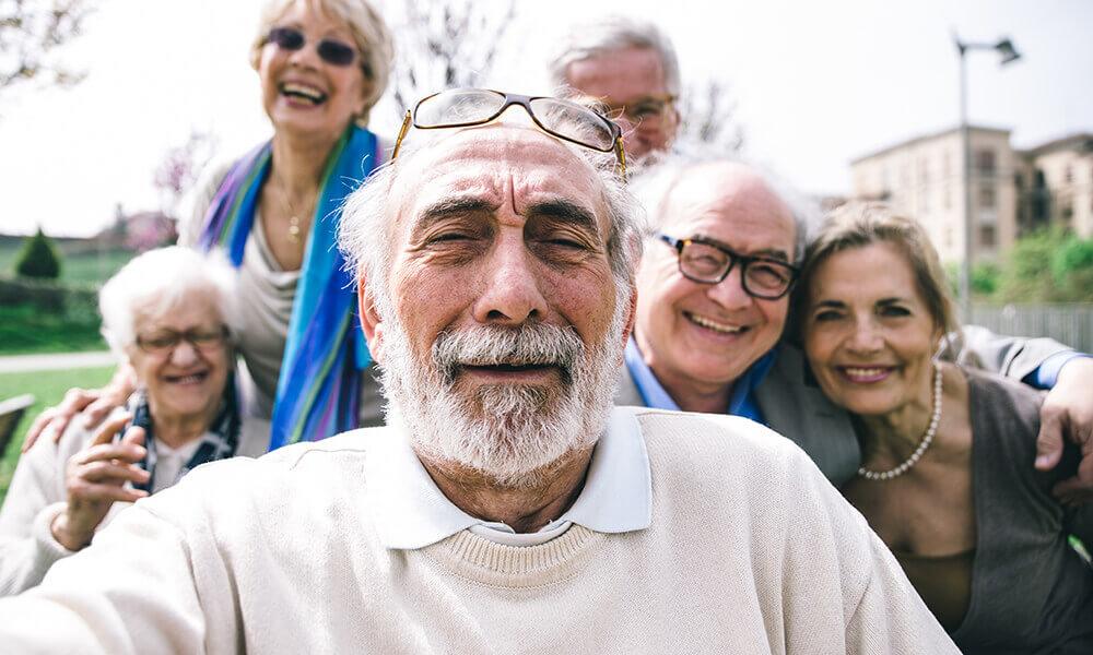elderly living