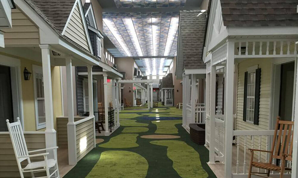 interior shot of The Lantern assisted living facility