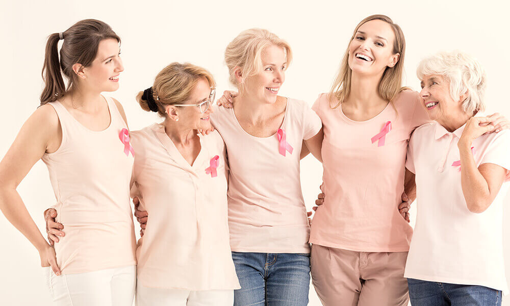 a group of women that are survivors of breast cancer